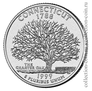 1999-25-czentov-konnektikut-quarter-dollar-connecticut