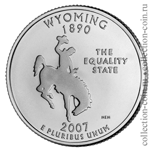 2007-25-czentov-vajoming-quarter-dollar-wyoming