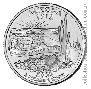 2008-25-czentov-arizona-quarter-dollar-arizona