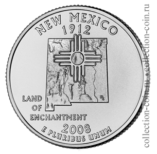 2008-25-czentov-nyu-meksiko-quarter-dollar-new-mexico
