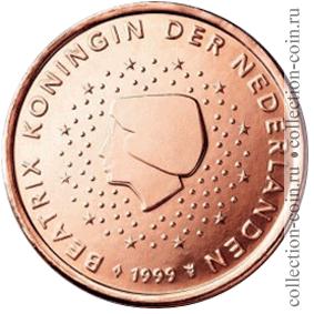 Монеты евро нидерландов регулярного