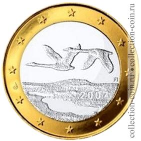 Юбилейные монеты 1 евро биденхандер