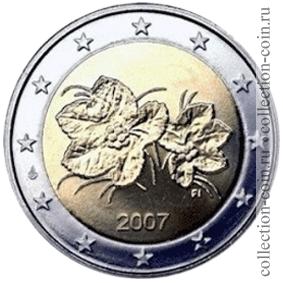 2 евро финляндия 2007 купюры россии 1000 рублей