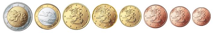 monety-evro-finlyandii-obrazcza-1999-goda