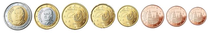 monety-evro-ispanii-obrazcza-1999-2009-godov
