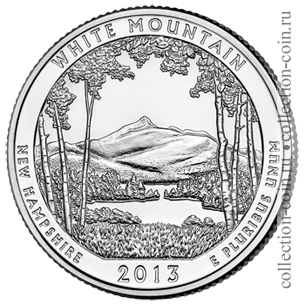 2013-25-czentov-naczionalnyj-les-belye-gory-quarter-dollar-white-mountain-national-forest