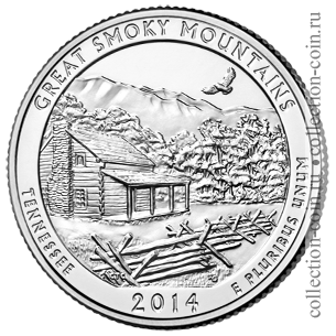 2014-25-tsentov-natsionalnyj-park-grejt-smoki-mauntins-quarter-dollar-great-smoky-mountains-national-park